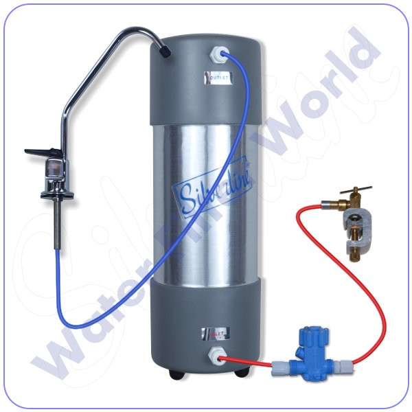 Under Counter Heavy Metal Reduction Water Filter System Large Households & Small Offices