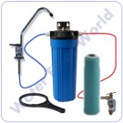 Under Sink Heavy Metal Reduction Water Filter System With Bottle Cartridge