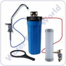 "Standard Carbon 10"" Cartridge Water Filter System"